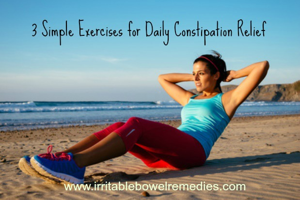 3 Simple Exercises For Daily Constipation Relief